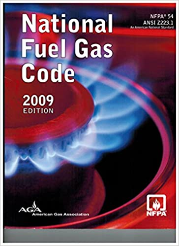 2009 NFPA 54 National Fuel Gas Code 2009 Paperback Edition