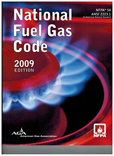 2009 Nfpa 54  National Fuel Gas Code  2009 Paperback Edition  By Aga Nfpa