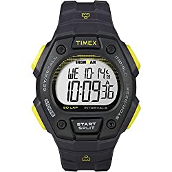 Timex Men's 'Ironman' Quartz Resin Sport Watch, Color:Black (Model: TW5K860009J)