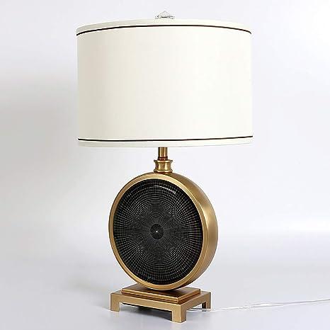 YJFFAN Lámpara de Mesa para Sala de Estar Lujosa decoración ...
