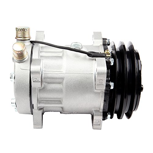 (ECCPP A/C Compressor with Clutch Compatible fit for CO 4647C 2259344000 fits Excel Wagoneer Mazda 626 Mercury Tracer)