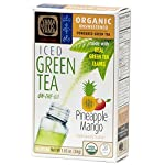 Organic Pineapple Mango Green Iced Tea Powder