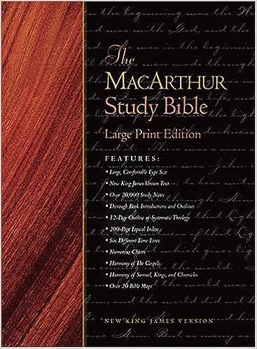 The MacArthur Study Bible: New King James Version: John