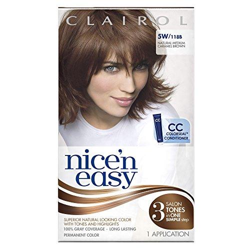 Clairol Nice N Easy 5w 118b Medium Mocha Brown