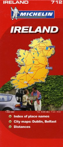 Michelin Map Ireland 712 (Maps/Country (Michelin))