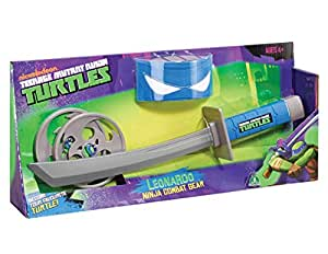 TMNT TEENAGE MUTANT NINJA TURTLES LEONARDO ROLE PLAY NINJA COMBAT GEAR - KATANA