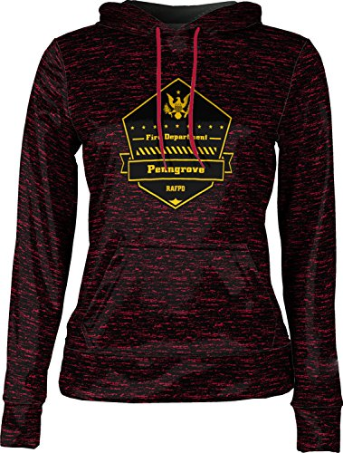 Price comparison product image Girls' Rancho Adobe Fire Protection District Fire Department Brushed Pullover Hoodie