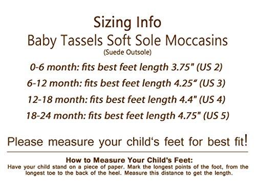 Pictures of Liv & Leo Baby Tassels Soft Sole Fringe Grey 3