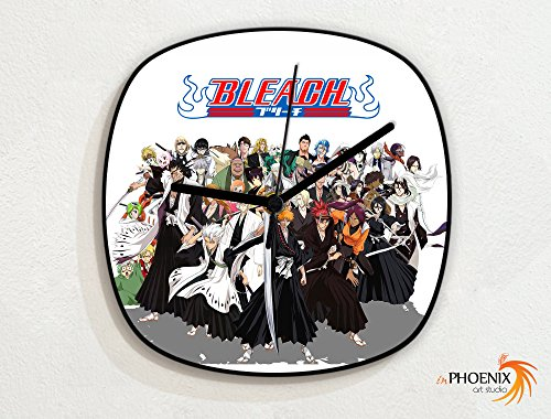 Bleach-Ichigo-All-Characters-Japanese-Anime-Novelty-Gift-Custom-Name-Wall-Clock