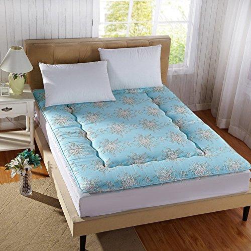 Collapsible Ergonomics Design Help Sleep Tatami mats,Carpet Mattress Sleeping pad Floor Student For [summer] [nap] Hit the ground shop-flowering 100x200cm(39x79inch) by Nclon