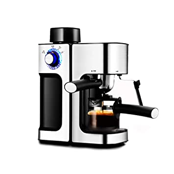 Cafeteras de Espresso automáticas Máquina de café Espresso máquina de café casera semiautomática cafetera de Vapor pequeña máquina de café Comercial ...