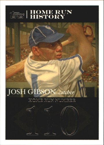 2007 Topps Gibson Home Run History Baseball Card #JG110 Josh -