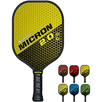 ... 2.0 Pickleball Rackets - Textured Fiberglass Face - Mens and Womens Pickle Ball Racquet - Indoor and Outdoor Racket - Yellow Pickle-Ball Paddle - 7.6 oz