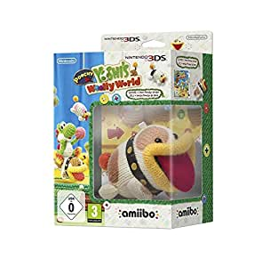 Nintendo 3DS-Poochy and Yoshi's Woolly World (Amiibo Bundle) for Nintendo 3DS 2017 Nintendo 3DS by Nintendo