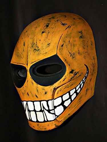 Custom Army of Two Halloween Costume Cosplay BB Gun Paintball Airsoft Mask Yellow Smiley MA05 am -