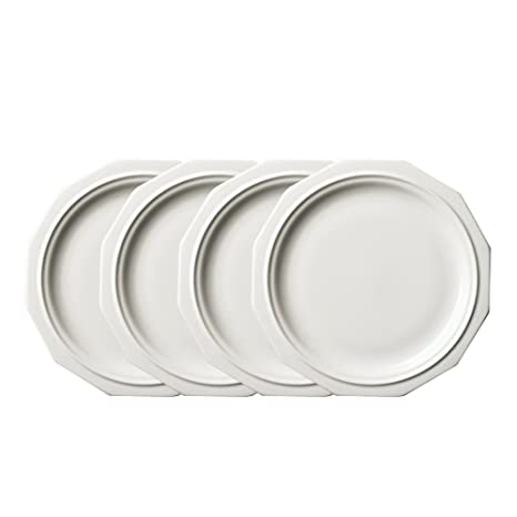 Pfaltzgraff Heritage Dinner Plate (10-Inch Set of 4) White  sc 1 st  Amazon.com & Amazon.com | Pfaltzgraff Heritage Dinner Plate (10-Inch Set of 4 ...