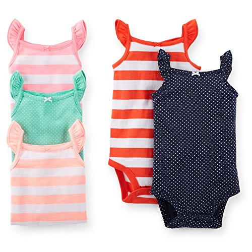 Carters Sleeveless Bodysuits Months Striped