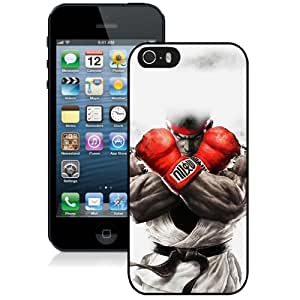 Unique Designed Cover Case For iPhone 5S With Ah Street Fighter Ryu Art Illust Game Phone Case Kimberly Kurzendoerfer