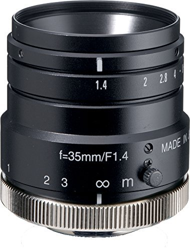 Kowa LM35HC 1'' 35mm F1.4 Manual Iris C-Mount Lens, 2 Megapixel Rated by Kowa (Image #1)