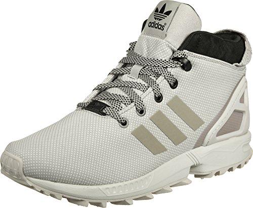 adidas ZX Flux 5/8 TR, Scarpe da Ginnastica Alte Uomo grigio beige nero