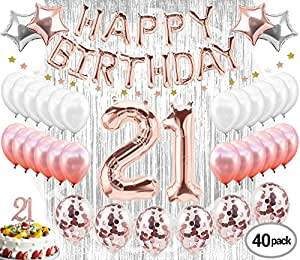 Amazon 21st Birthday Decorations