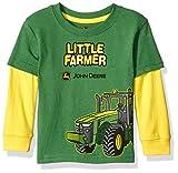 John Deere Boys' Little Farmer Tee, Green, 18 Months
