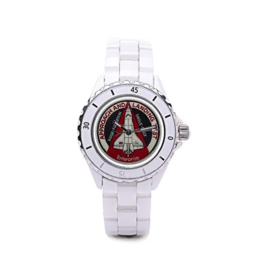 papibaby comprar en línea de relojes reloj de pulsera de cerámica de la NASA: Amazon.es: Relojes