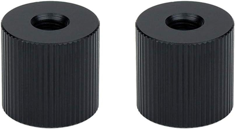 JJC Lot de 2 adaptateurs standard 1//4-20 femelle vers 1//4-20 femelle /à filetage femelle 1//4-20 pour montage de bras magique appareil photo reflex num/érique via tr/épied