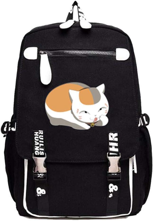 Gumstyle Natsume Yuujinchou Anime Cosplay Laptop Backpack Book Bag Rucksack Schoolbag for Students 17