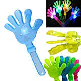 Toy, ClodeEU 1pc LED Flashing Fluorescent Clapping Hand Palm Clap Hand Flash Clap - Random Color