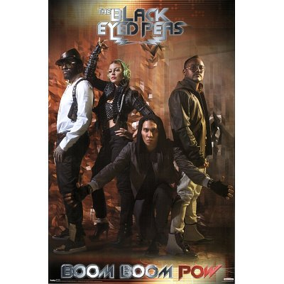 (22x34) Black Eyed Peas (Boom Boom Pow) Music Poster Print - Black Eyed Peas Love Video