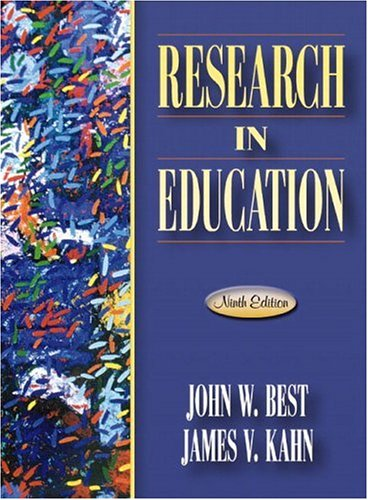 Research in Education (9th Edition)