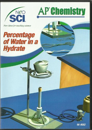 Neo/SCI Percentage of Water in a Hydrate Neo/LAB AP Chemistry Software, Individual License ()