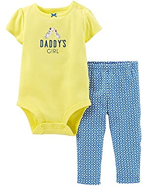 Baby Girls' 2 Piece Layette Set (Baby) - Yellow - 12 Months