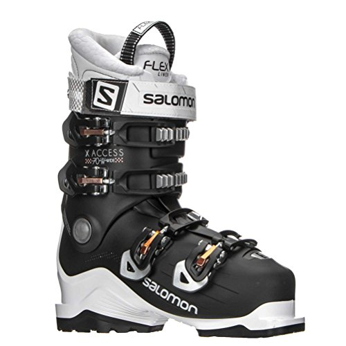 Salomon X-Access 70 W Wide Womens Ski Boots - 24.5/White-Black-Corail