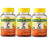SPRING VALLEY Adult Gummy Vitamin C,250MG, Pack