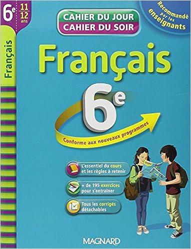 Amazon Fr Francais 6e Cahier De Revision Et D