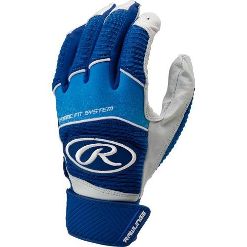 Rawlings wh950bgy Youth Workhorseバッティング手袋 B01M10E5L3 Medium|ロイヤル ロイヤル Medium