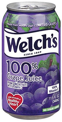 Welch's Grape Juice, 11.5 oz - Pk of 24