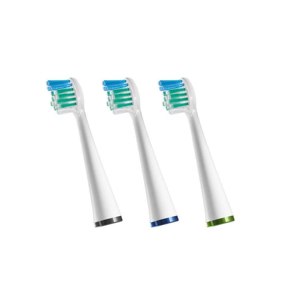 Waterpik Sensonic Complete Care Compact Brush Heads, Replacement Tooth Brush Heads, SRSB-3W, 3 Count