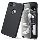 Image of Toobe iPhone 7 Plus Case Ultra Armor Shock Absorbing Heavy Duty Dual Layer Case Protection With Free Scree Protector For iPhone 7 Plus/ iPhone 6S Plus, Smart Black