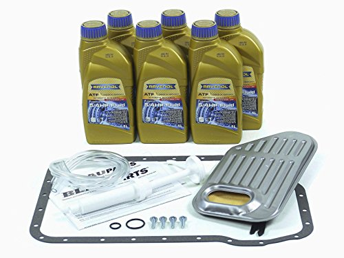 BLAU F2A1007-F VW Passat ATF Automatic Transmission Fluid Filter Kit - 1998-05 w/ 5 Speed Tiptronic by Blau