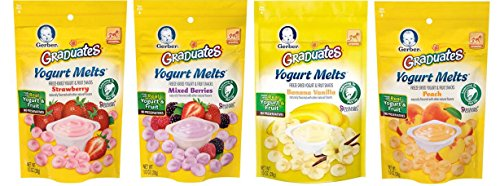 Where to find gerber yogurt melts banana vanilla?