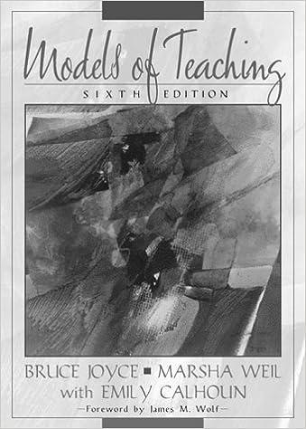 MODELS OF TEACHING BRUCE R JOYCE PDF DOWNLOAD