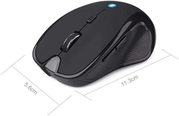 Romsion Wireless Bluetooth Mouse 6D 1600DPI 2.4GHz Optical Gaming Mouse for PC Computer