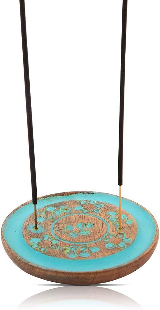 Sun Incense Burner Wooden Sun Incense Holder Meditation Incense Tray Handmade Incense Stick Holder Incense Stick Ash Catcher Aromatherapy