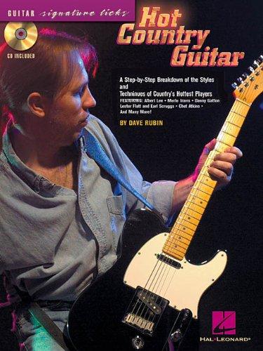 Hot Country Guitar Licks (Hot Country Guitar)