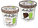 ARCTIC ZERO Fit Frozen Desserts - 6 Pack - Cappuccino and Purely Chocolate Creamy Pints