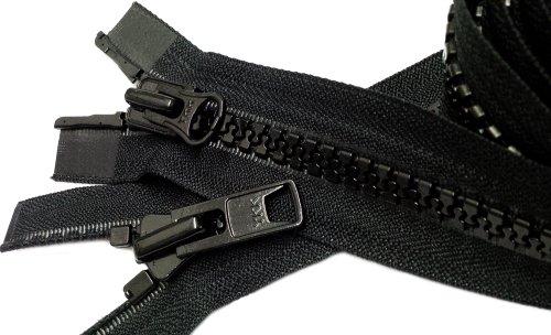 (Zipperstop Wholesale YKK® Sport Parka Dual Separating Zipper 60