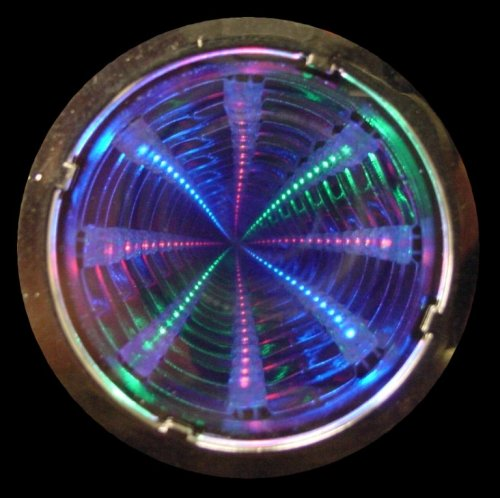 Flashing Panda LED Flashing Multi-Color Infinity Tunnel (Flashing Tunnel)